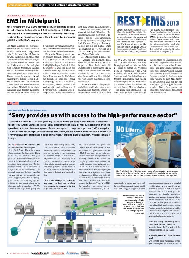 Productronica tageszeitung tag2