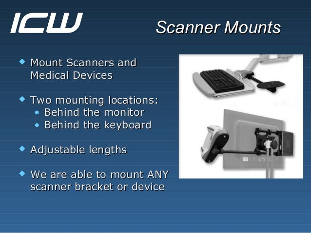 Icw S Ergonomic Computer Monitor And Device Mounts