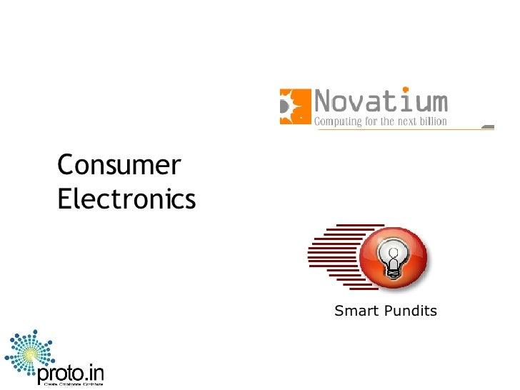 Consumer Electronics Smart Pundits