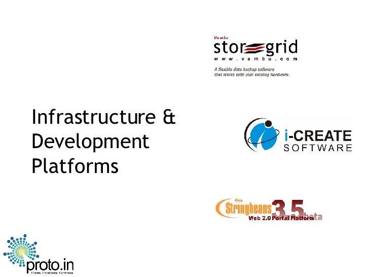 Infrastructure & Development Platforms