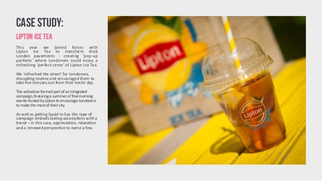 creative brief strategy liptons ice t Fresh and creative lipton ice tea print ads mobile and video advertising creatives and explore their digital marketing strategy lipton ice tea - cool down.