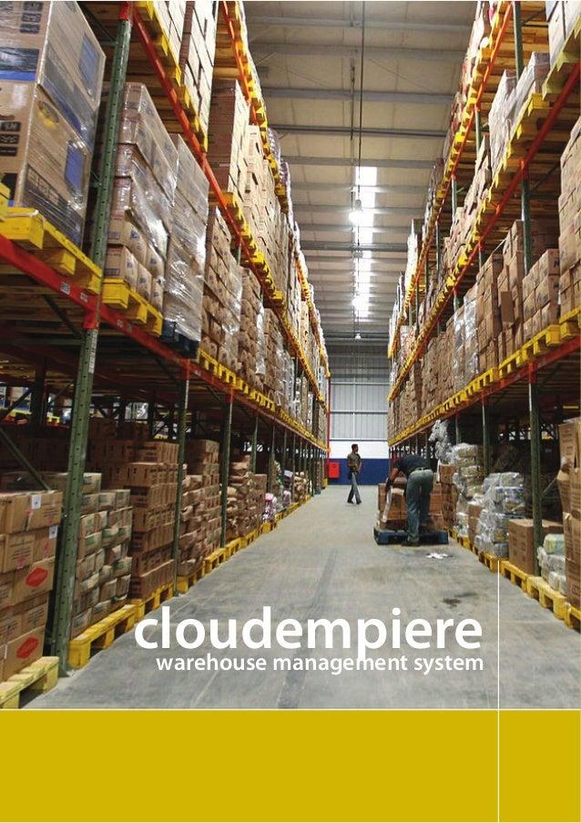 cloudempiere warehouse management system