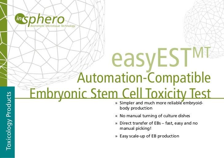 easyEST                                  MT                             Automation-Compatible                      Embryon...