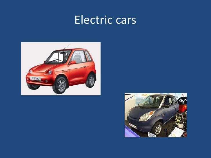 Electric cars<br />