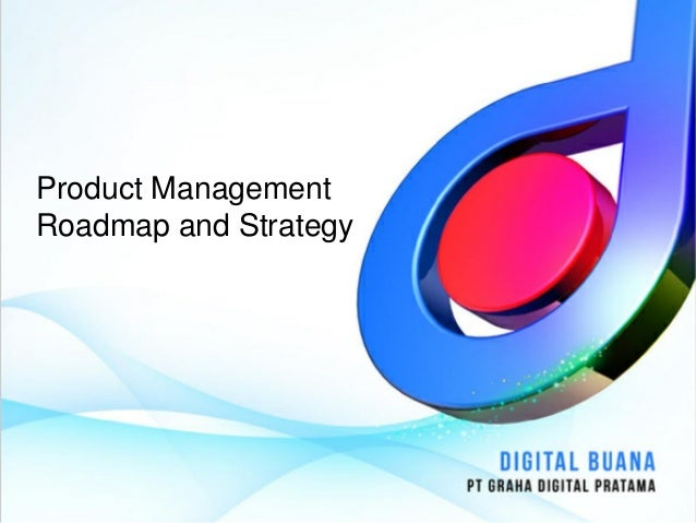 Product ManagementRoadmap and Strategy