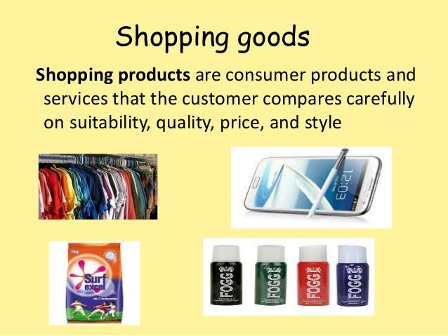 Product strategy &... Unsought Goods