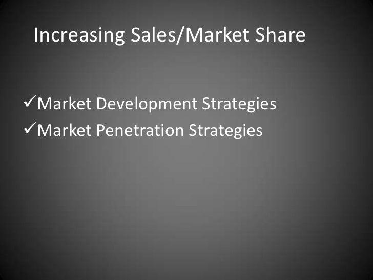 Market penetration strategy definition