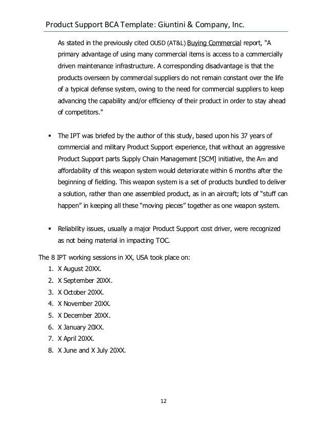 business case analysis example pdf