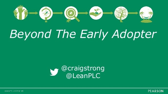 Beyond The Early Adopter @craigstrong @LeanPLC