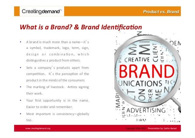 how to make a brand presentation