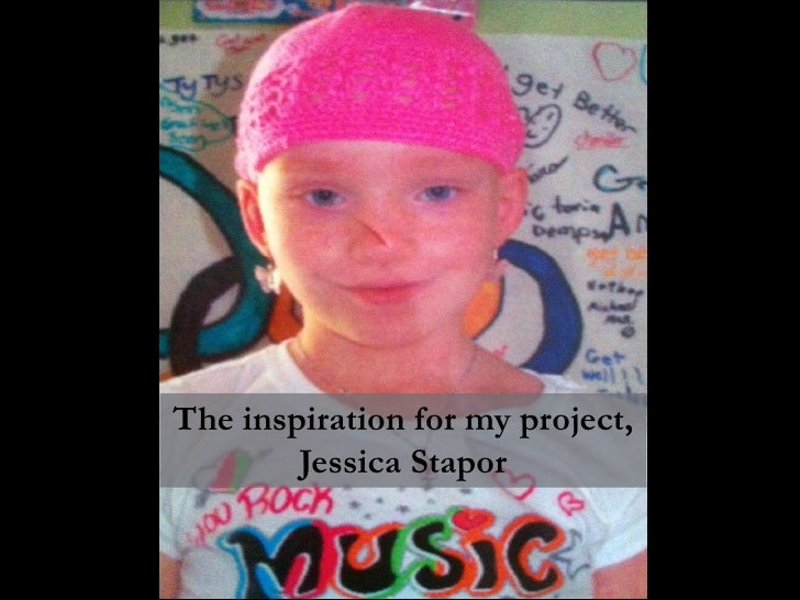 The inspiration for my project,        Jessica Stapor