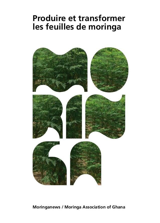 Produire et transformer les feuilles de moringa Moringanews / Moringa Association of Ghana