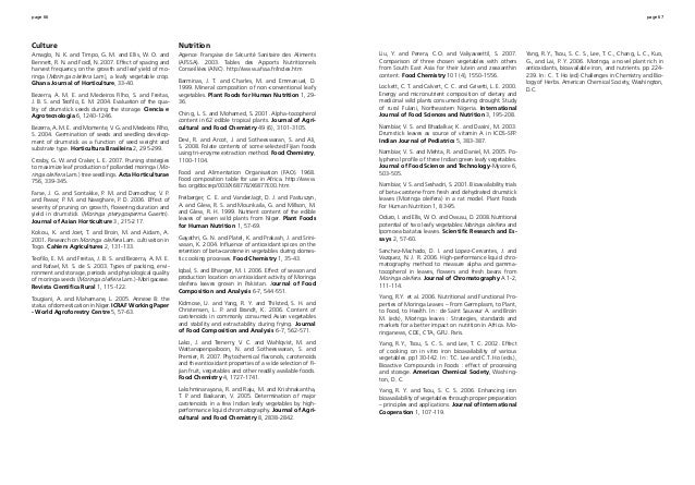 page 66 page 67 Culture Amaglo, N. K. and Timpo, G. M. and Ellis, W. O. and Bennett, R. N. and Foidl, N. 2007. Effect of s...