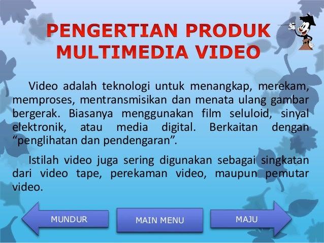 Sebutkan Contoh Contoh Produk Multimedia Content - Coba ...