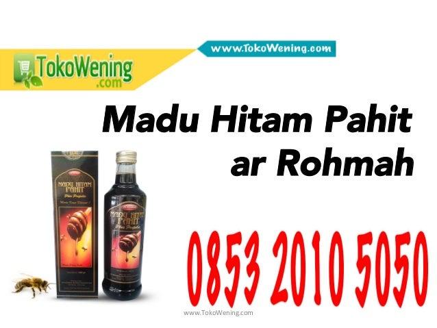 www.TokoWening.com   Madu Hitam Pahit ar Rohmah Gambar  Produk