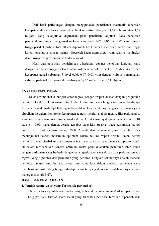 Produksi asam asetat secara fermentasi 16 ccuart Choice Image