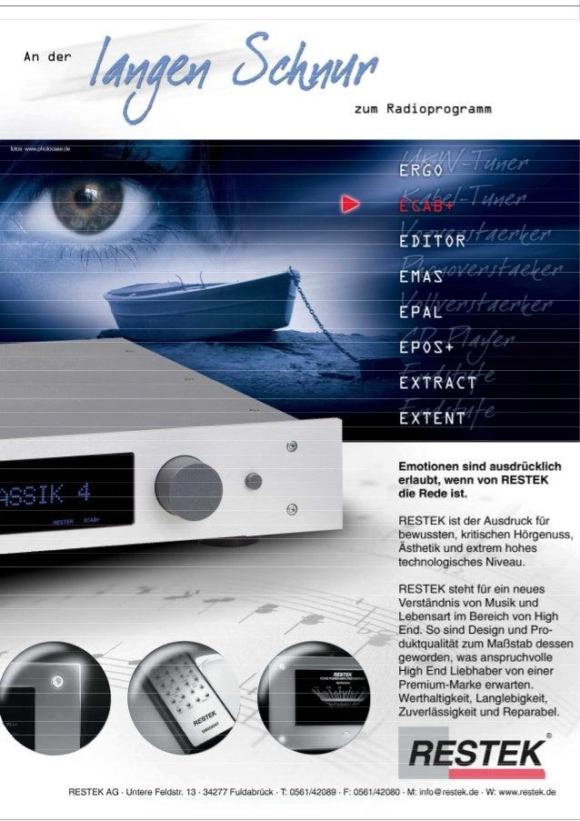 Produktblatt RESTEK ECAB+
