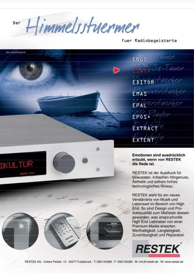 Produktblatt RESTEK ESAT+