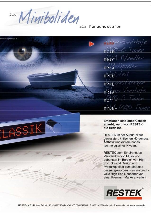 Produktblatt RESTEK MAMP Endverstärker