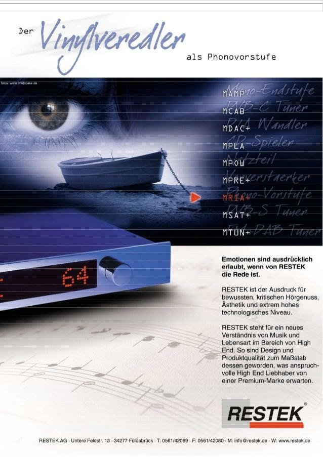 Produktblatt RESTEK MRIA+ Phono Pre