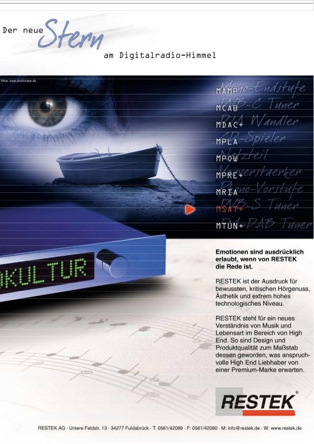 Produktblatt RESTEK MSAT+ Tuner