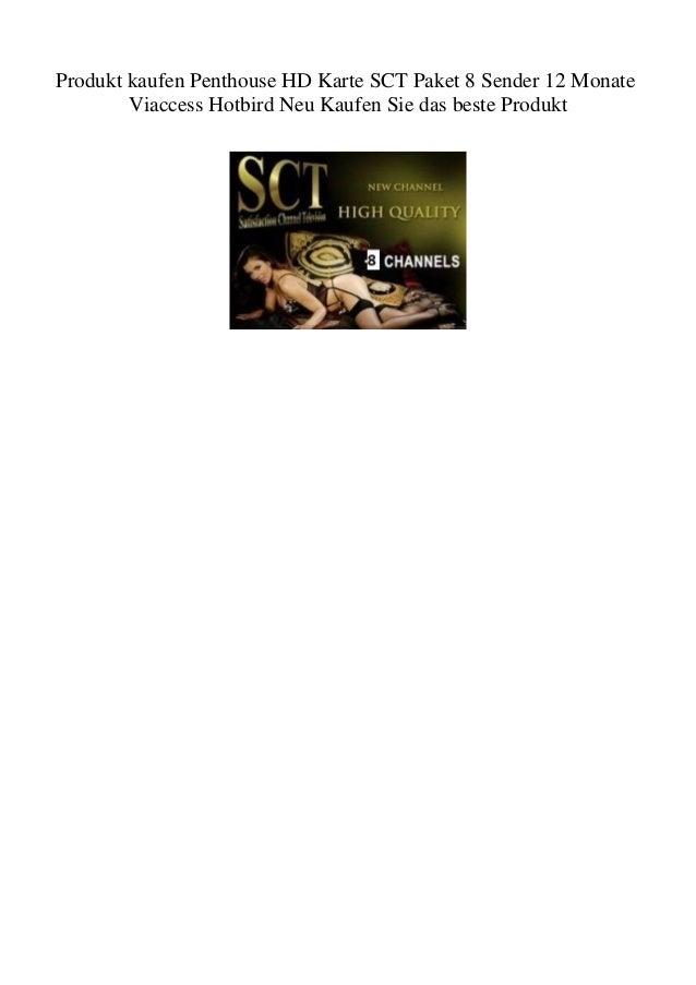 hd karte kaufen Produkt kaufen Penthouse HD Karte SCT Paket 8 Sender 12 Monate Viacce…