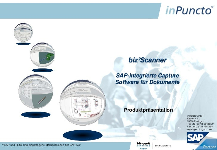 biz²Scanner                                                             SAP-integrierte Capture                           ...