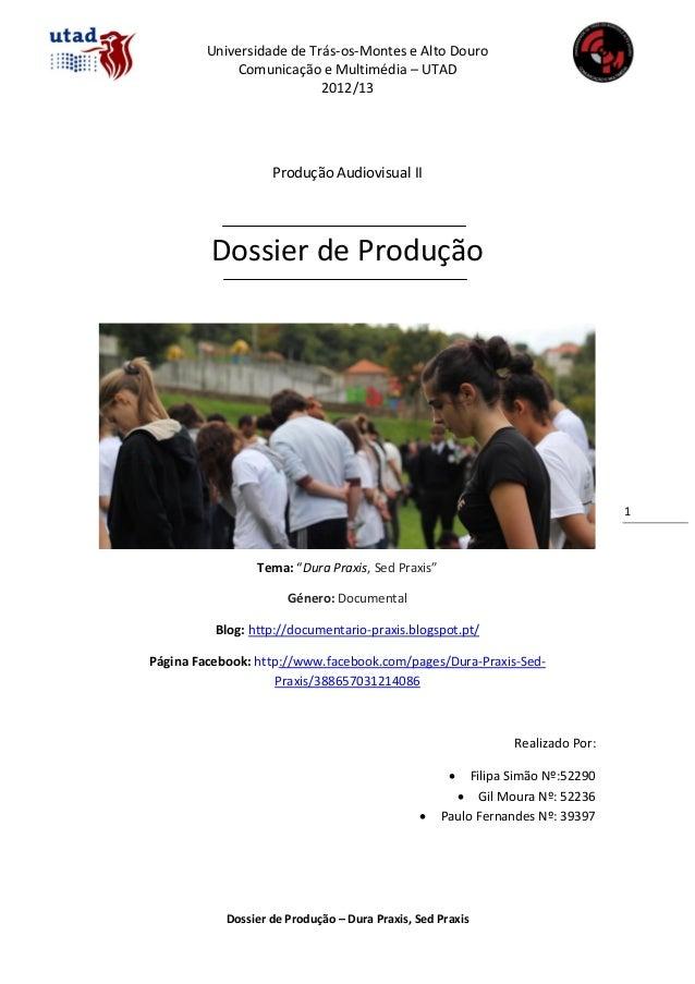 Universidade de Trás-os-Montes e Alto Douro             Comunicação e Multimédia – UTAD                           2012/13 ...