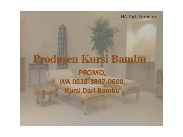 6800 Gambar Kursi Bambu Download HD