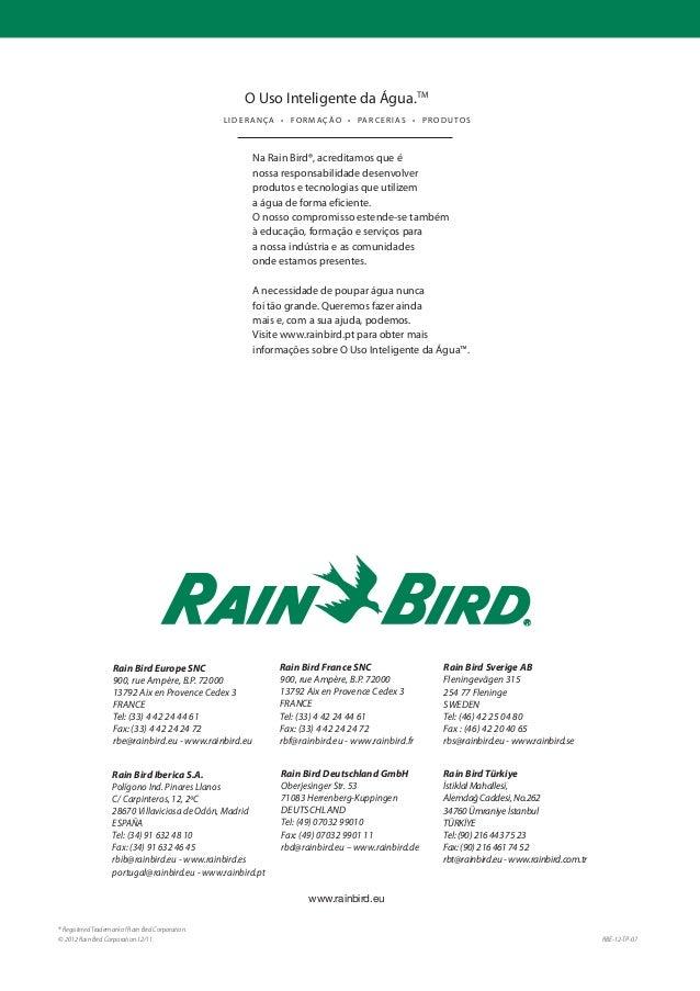 tubo gotejador para uso enterrado novos bocais rain bird. Black Bedroom Furniture Sets. Home Design Ideas
