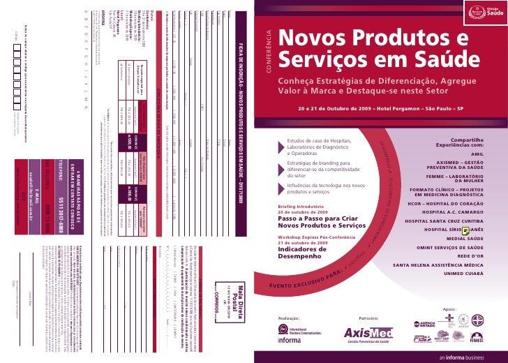 Novos Produtos e conferência                   Serviços em Saúde               Conheça Estratégias de Diferenciação, Agreg...