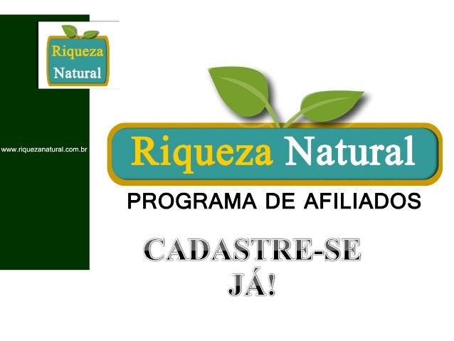 GANHE DINHEIRO REVENDENDO Produtos Naturais NA INTERNET!