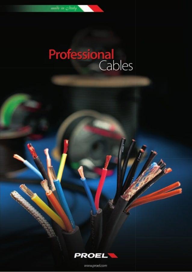 100% MADE IN ITALY5 ANNI DI GARANZIA!• Sono tanti i punti di forza dei cavi professionali Proel. Progettazione, ricerca,de...