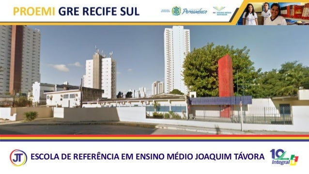 ESCOLA DE REFERÊNCIA EM ENSINO MÉDIO JOAQUIM TÁVORA