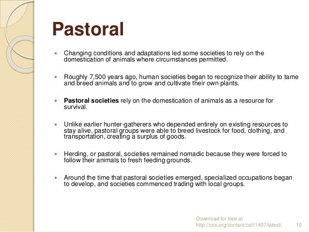 Pastoral Definition
