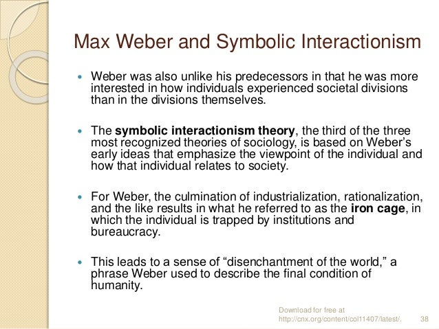 Max Weber And Symbolic Interactionism Essay Help Petermpaperhyll