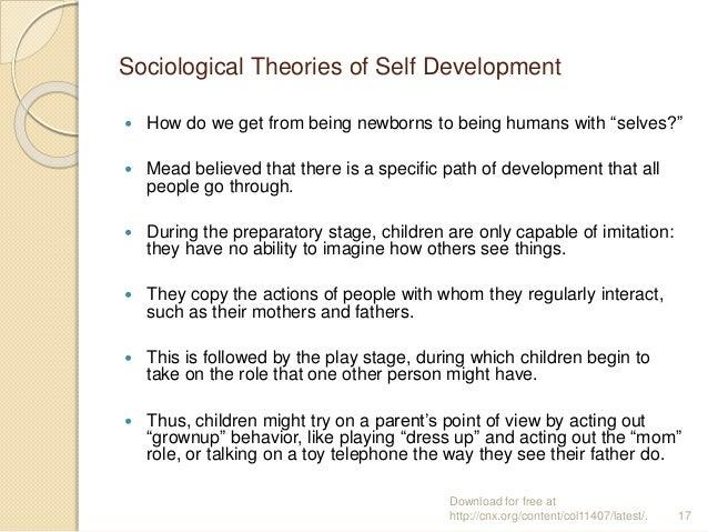 Sociologically imagined self