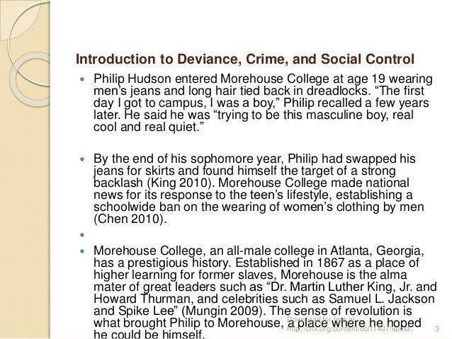 deviance essay