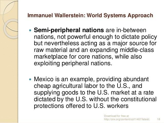 semi peripheral nations