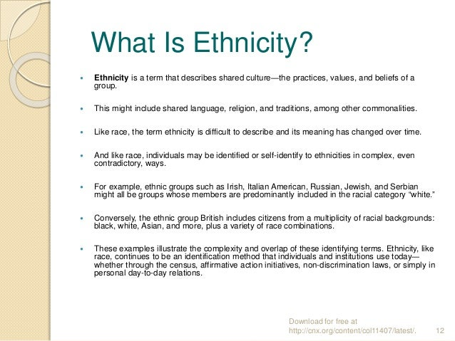Profdr Halit Hami Z Sociology Chapter 11 Race And Ethnicity