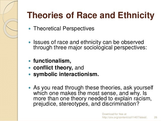 Racism and sociology essay