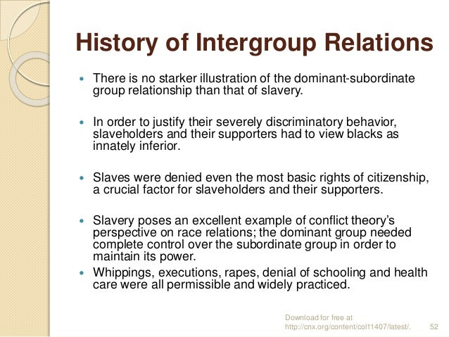 the sociology of slavery race and When you think back to your education, how much time did you spend discussing  slavery, race, racism, and topics such as white privilege.
