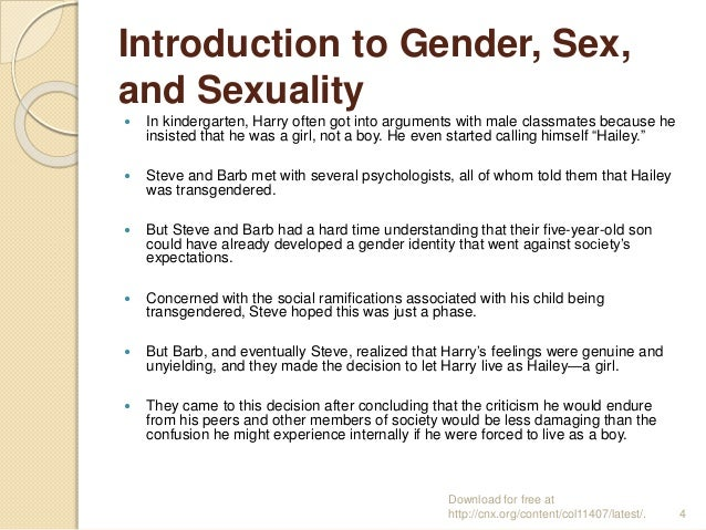 Gender and sexuality sociology
