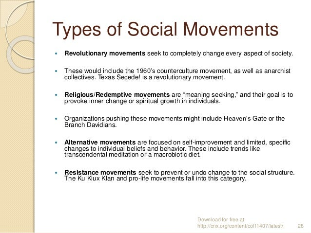 what is a social movement pdf