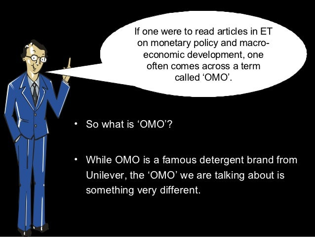 If one were to read articles in ET             on monetary policy and macro-               economic development, one      ...