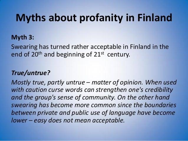 Finnish Swear Words