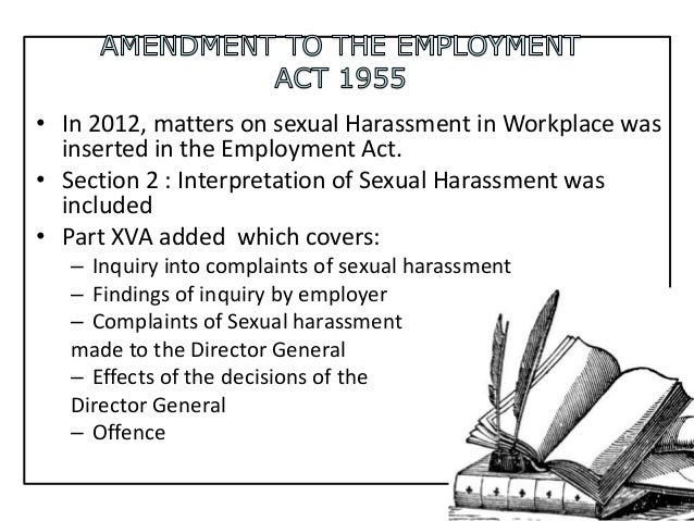 Falsely accused of sexual harassment in the workplace