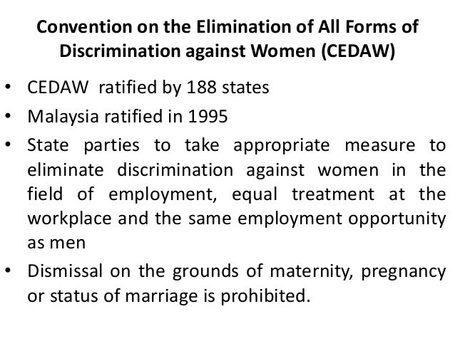 The issue of discrimination and harassment in the workplace