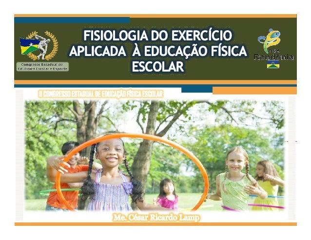Hoje, o PCN (Brasil, 1999) coloca, entre os principais objetivos da Educação Física no Ensino Médio, a compreensão do func...