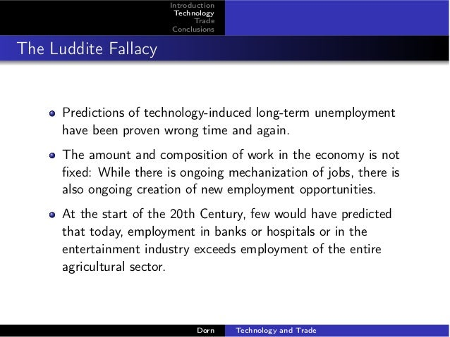 an introduction to luddite technology But that's not fair to the original luddites — cloth workers who  for 50 years, as  england built the first high-tech economy on the planet,.